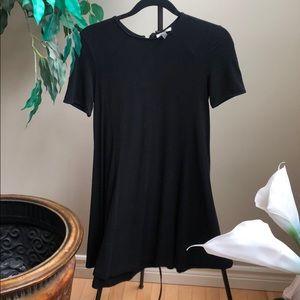 Zara T Shirt Dress with zipper